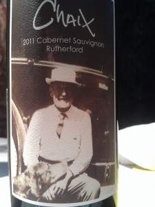 Classic Rutherford style in the Chaix 2011 Cabernet Sauvignon.