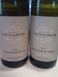 Two tasty interpretations of the 2013 vintage from Weingut Hexamer in the Nahe region.