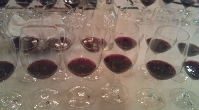 "Exploring the virtues of the 2011 Rutherford Cabernet Sauvignon at ""A Day in the Dust"""