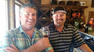 At Michael David Winery in Lodi: Kevin Phillips (VP of Operations, Michael David Winery & Phillips Farms) and Adam Mettler (GM/Winemaker). @MDWinery @Lodi_Wine.