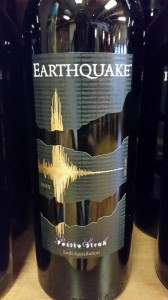 The delectable Earthquake Petite Sirah made by Michael David Winery & Phillips Farms. @Lodi_Wine @MDWinery.