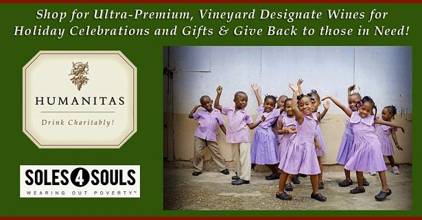 Help Humanitas Wines with Soles4Souls: Clothes4Souls Coat Distribution on Sat Dec 5th