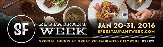 Tastes of SF:  This is Restaurant Week!