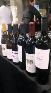 Fabulous wines I brought to the event provided by Grgich Hills Estate, Trefethen Family Vineyards, Bouchaine Vineyards & Stags Leap Winery. Look for these wineries and other top producers at the events, March 16-20!