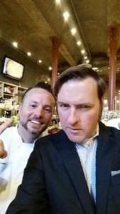 Fun selfie of me and Pizza King Tony Gemignani taken at Flavor Napa Valley. This week, Tony and I will be judging the Pizza My Way event at Sebastiani Winery in Sonoma.