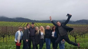 Find Sawyer! At the 40th Anniversary of The Wine Road in Sonoma County, one of these wine fans of world-class wines could be you!