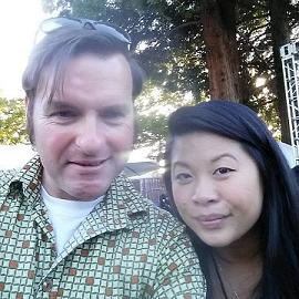 Selfie with Superstar Chef Mei Lin.