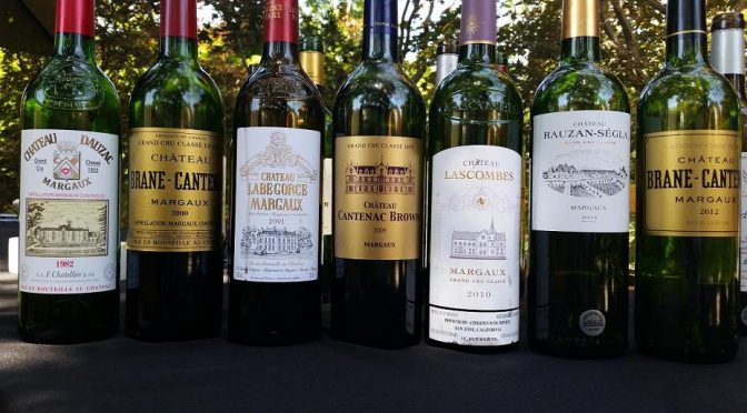Sawyer-Casale Wine Education Series 2016: Margaux Report