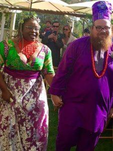 Just married: Amaka & Ethan!!!!
