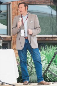 Hosting a seminar at the Telluride Wine Festival 2016.