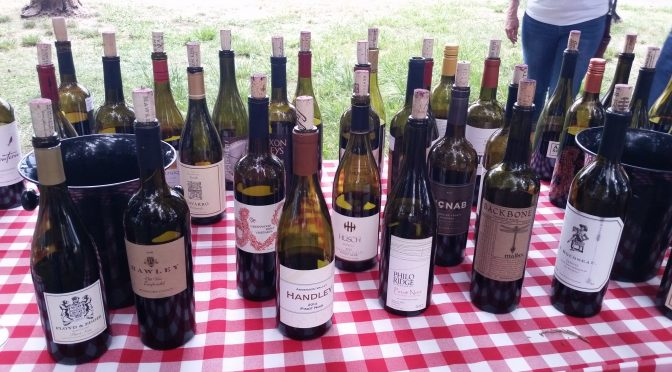 And the winner is . . . Mendocino County Wine Competition!