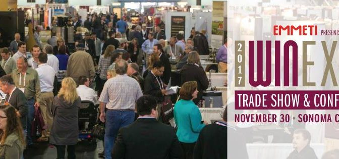 Great Seminars at the Wine Industry Expo Trade Show in Santa Rosa on November 30th!