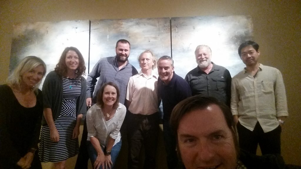 My selfie with the amazing winemakers of Oregon Rieslings!