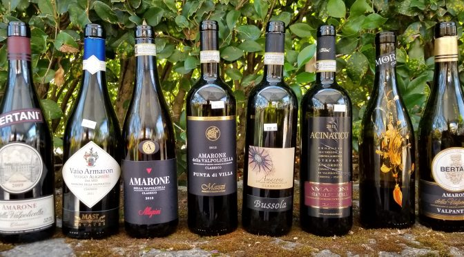 In Amoré with Amarone: The Sawyer-Casale Tasting