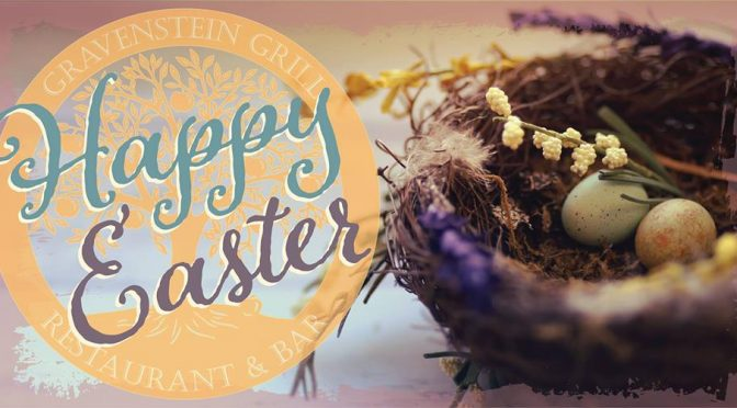 Celebrate Easter with Brunch at Gravenstein Grill!